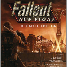 Joc PC Bethesda Softworks Bethesda Fallout New Vegas Ultimate Edition, Role playing, 18+, Single player