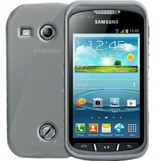 Husa Protectie Spate Celly Gelskin304 transparenta pentru Samsung Galaxy Xcover 2 S7710, Silicon
