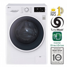 Masina de spalat rufe LG F14U2TDN0 A+++ 1400 rpm 8kg alba, A+++