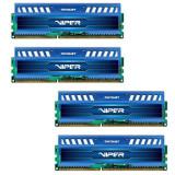 Memorie Patriot Viper 3 Sapphire Blue 32GB DDR3 1866 MHz CL10 Quad Channel Kit - Memorie RAM