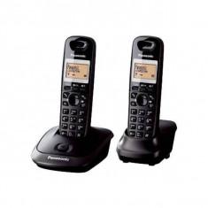 Telefon fix Panasonic TG2512FXT 2 receptoare Black