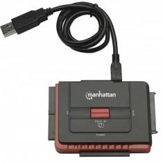 Convertor Manhattan Hi-Speed USB 2.0 la SATA/IDE - Cablu PC