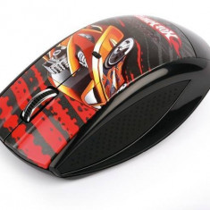 Mouse Modecom MC-619 Art Hot Wheels 1, USB, Optica