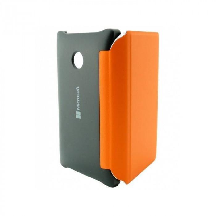 Husa Flip Cover Nokia CP-634 ORANGE pentru Lumia 532 foto mare