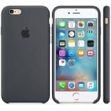 Husa Protectie Spate Apple Silicone Case Gri Charcoal pentru tiPhone 6s plus - Husa Telefon