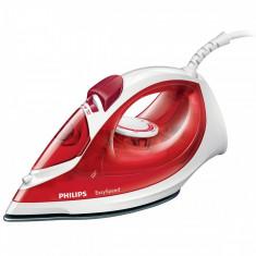 Fier de calcat Philips GC1022/10 EasySpeed 2000W alb / rosu, Antiaderenta, 200 ml
