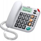 Telefon fix MaxCom KXT480 White