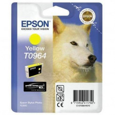 Consumabil Epson Cartus T0964 Yellow - Cartus imprimanta