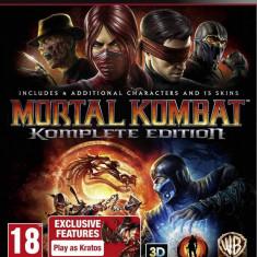Joc consola Warner Bros Mortal Kombat Komplete Edition PS3 - Jocuri PS3, Actiune, 16+