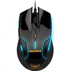 Mouse gaming Newmen N500 black, USB, Optica