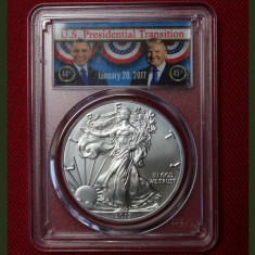 United States / 2017 Silver Eagle - First Strike / 1 OZ PCGS MS70!, America de Nord, Argint