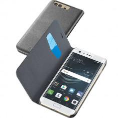 Husa Flip Cover Cellularline BOOKESSENP10K Negru pentru HUAWEI P10 - Husa Telefon