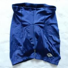 Pantaloni ciclism Loffler; marime L: 70-110 cm talie elastica, 46 cm lungime - Echipament Ciclism