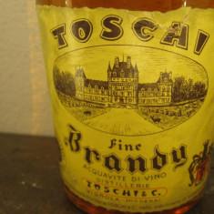 TOSCHI fine brandy, distillato di vin, cc 750 gr 40 ani 60 italy multi 3 ani - Cognac