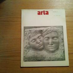 Revista ARTA nr. 4/1984 - VASILE KAZAR - semneaza: V. Dragut, M. Driscu - Revista culturale