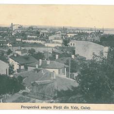3435 - GALATI, Panorama - old postcard - unused - Carte Postala Moldova 1904-1918, Necirculata, Printata