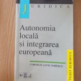 AUTONOMIA LOCALA SI INTEGRAREA EUROPEANA- POPESCU