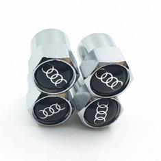 Set 4 capacele ventil pentru auto model audi metalice