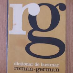 DICTIONAR DE BUZUNAR ROMAN GERMAN- cartonata/ supracoperta Altele