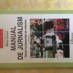 Manual de jurnalism vol.II M. Coman