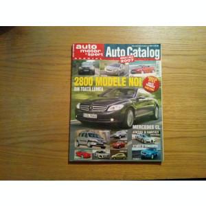 AUTO CATALOG * Modelele Anului 2007 - 2800 Modele Noi din toata Lumea - 306 p.