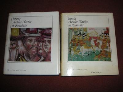 Istoria artelor plastice in Romania (2 volume) foto