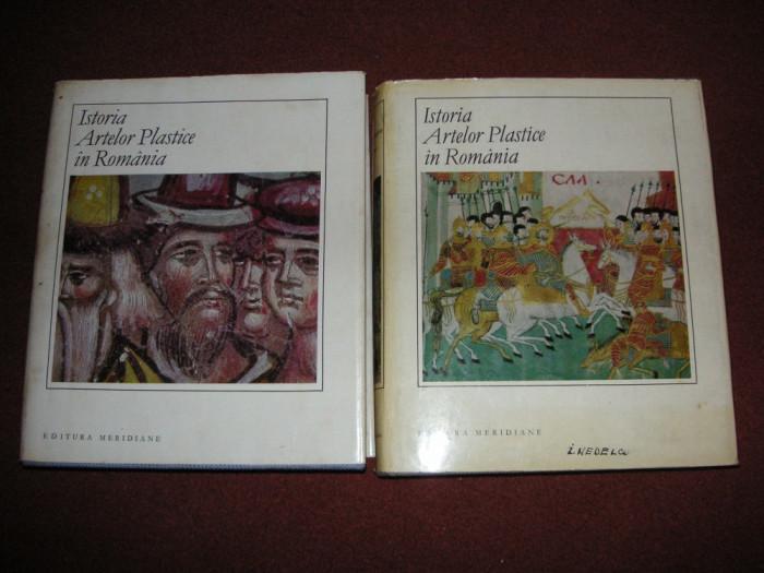 Istoria artelor plastice in Romania (2 volume)
