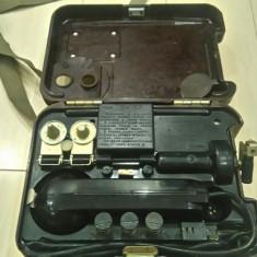 Telefon militar de campanie model TA 57 nou(stoc de razboi)