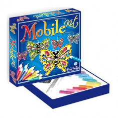 Mobil Fluturi Vitraliu - Jocuri arta si creatie
