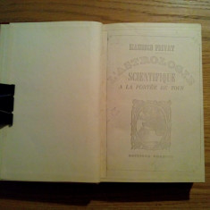 L`ASTROLOGIE SCIENTIFIQUE A LA PORTEE DE TOUS - Maurice Privat - 1935, 323 p. - Carte astrologie