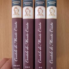 CONTELE DE MONTE CRISTO- ALEXANDRE DUMAS, VOL I, II, III, IV- cartonate