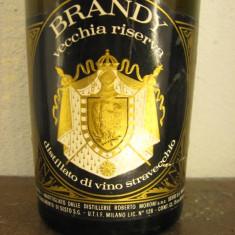 Brandy VECCHIA RISERVA, vsop, ani 1960-1970 rare cl. 75 gr 41 - Cognac