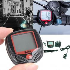 KILOMETRAJ Computer bicicleta vitezometru Impermeabil la apa - 15 functii, Zoom