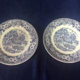 Doua farfuri portelan englezesc