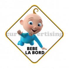 Sticker Auto /  Bebe la Bord