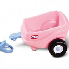 Remorca roz pentru masinute Cozy - Little Tikes