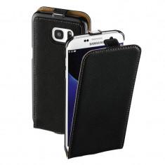 Husa Flip Cover Hama Smart Case Black pentru Samsung Galaxy S7 Edge - Husa Telefon