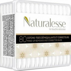 Betisoare cosmetice NATURALESSE cutie 80buc