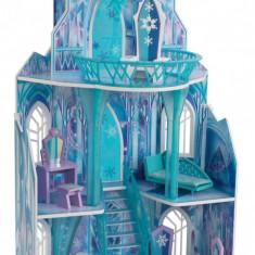 Casuta pentru papusi Castelul de Gheata Frozen Kidkraft, Multicolor