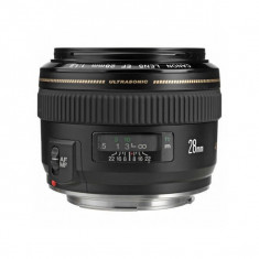 Obiectiv Canon EF 28mm f/1.8 USM - Obiectiv DSLR Canon, Wide (grandangular), Autofocus, Canon - EF/EF-S