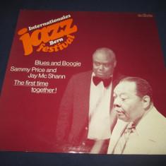Sammy Price & Jay McShann-Jazz Festival Bern Blues And Boogie_vinyl, LP_ExLibris - Muzica Blues Altele, VINIL