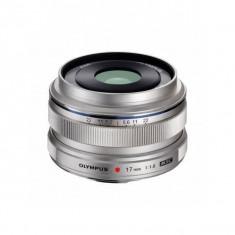 Obiectiv Olympus M.ZUIKO DIGITAL 17mm f/1.8 Silver montura Micro Four Thirds - Obiectiv mirrorless