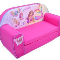 Canapea extensibila din burete Barbie - Set mobila copii