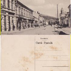 Vatra Dornei (Bucovina, Suceava)- Strada Regele Ferdinand - Carte Postala Bucovina 1904-1918, Necirculata, Printata