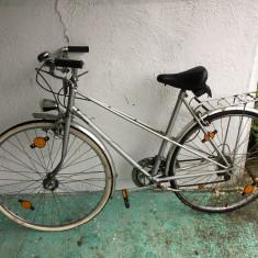 5 Bicicleta second-hand, Germania R28 - Bicicleta Dama, 21 inch, Numar viteze: 1