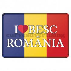 Sticker Auto /  Iubesc Romania