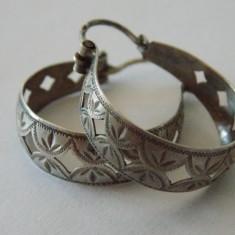 Cercei argint vintage -1705