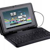 Husa cu tastatura Tracer microUSB Plastic 7 inch