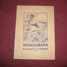 Monografia Raionului Corabia - 1958 - Carte Monografie