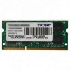 Memorie laptop Patriot 2GB DDR3 1333MHz CL9 - Memorie RAM laptop